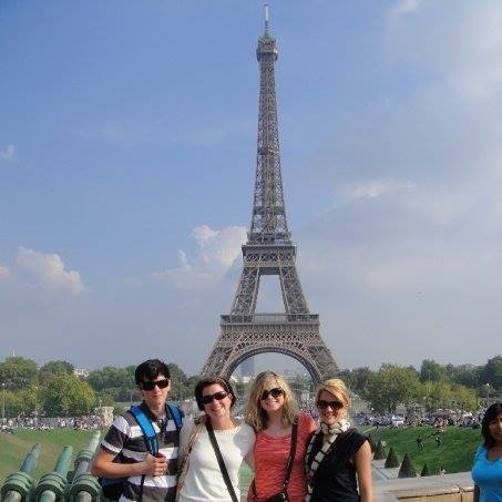Siblings Tour Eiffel