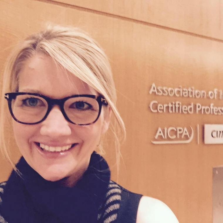 Kerri at AICPA